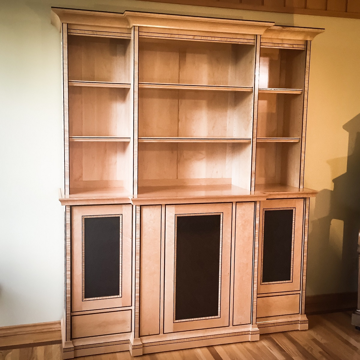 Birdseye and Wenge Cabinet