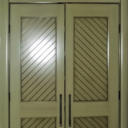 Country Kitchen Pantry Doors
